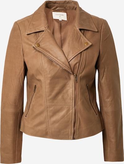 Cream Between-Season Jacket 'Rabia' in Brown, Item view