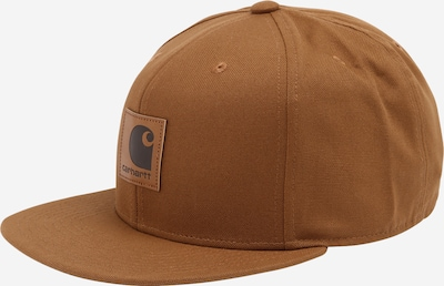 Carhartt WIP Casquette en marron, Vue avec produit