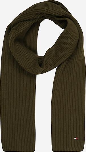 TOMMY HILFIGER Schal in dunkelgrün, Produktansicht