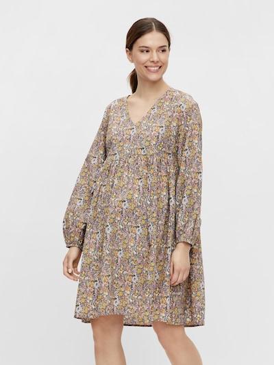 MAMALICIOUS Kleid 'LOTUS' in hellblau / mischfarben / weiß, Modelansicht