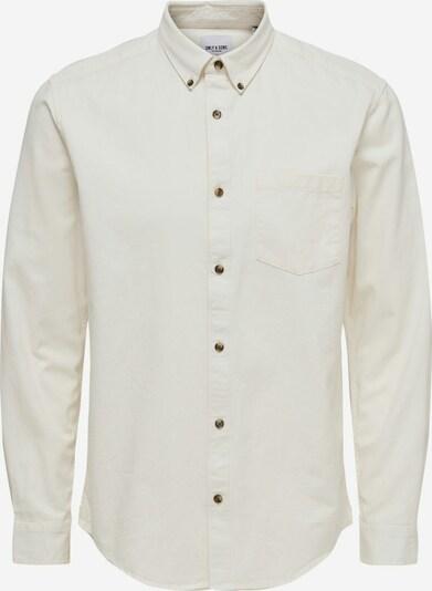 Marškiniai 'Bryce Life' iš Only & Sons, spalva – balta, Prekių apžvalga