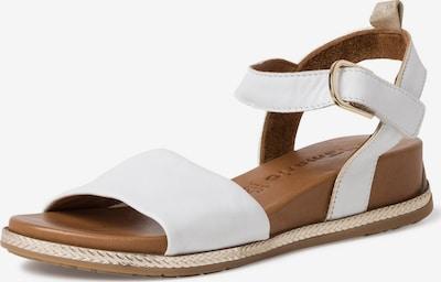 TAMARIS Páskové sandály - bílá, Produkt