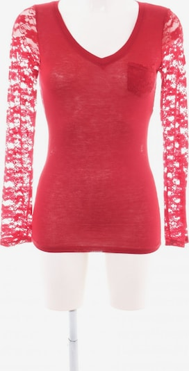 Active USA Longsleeve in S in rot, Produktansicht