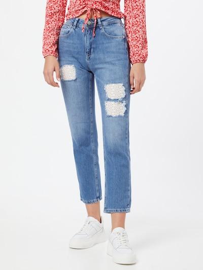 FREEMAN T. PORTER Jeans 'Monika' in blue denim, Modelansicht