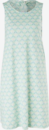 s.Oliver Jurk in de kleur Blauw / Turquoise / Geel / Wit, Productweergave