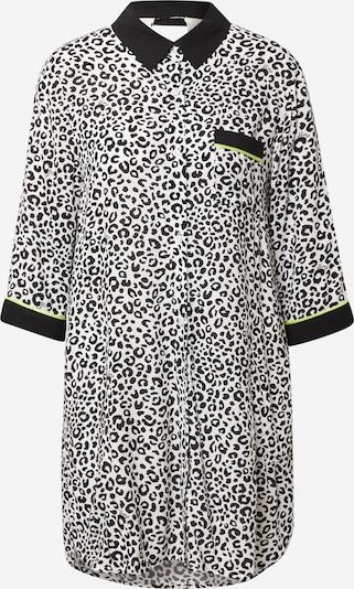 DKNY Koszula nocna w kolorze kiwi / czarny / offwhitem, Podgląd produktu