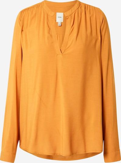 ICHI Bluse in cognac, Produktansicht