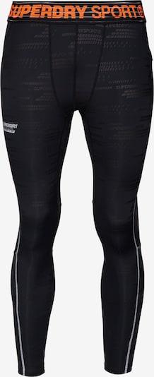 Superdry Sportbroek 'Active' in de kleur Grijs / Zwart, Productweergave