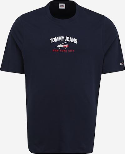 Tommy Jeans Plus Majica u mornarsko plava / crvena / bijela, Pregled proizvoda