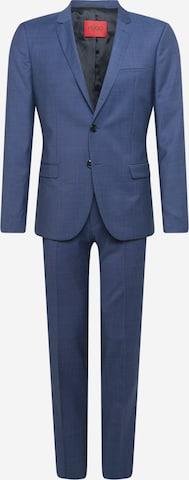 HUGO Antrekk 'Arti/Hesten212' i blå