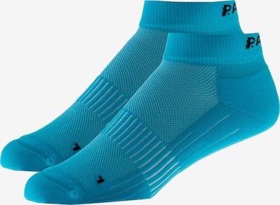 P.A.C. Athletic Socks in Neon blue / Black, Item view