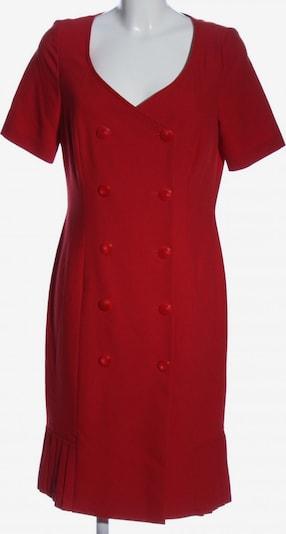 SINGH S. MADAN Kurzarmkleid in L in rot, Produktansicht