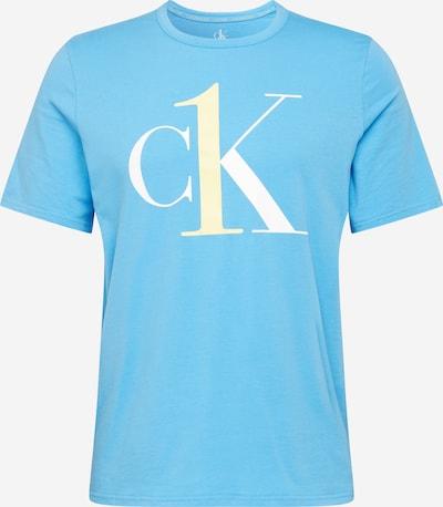 Calvin Klein Underwear Schlafshirt in hellblau / weiß, Produktansicht