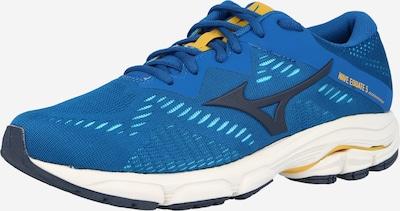 MIZUNO Loopschoen in de kleur Donkerblauw / Geel, Productweergave