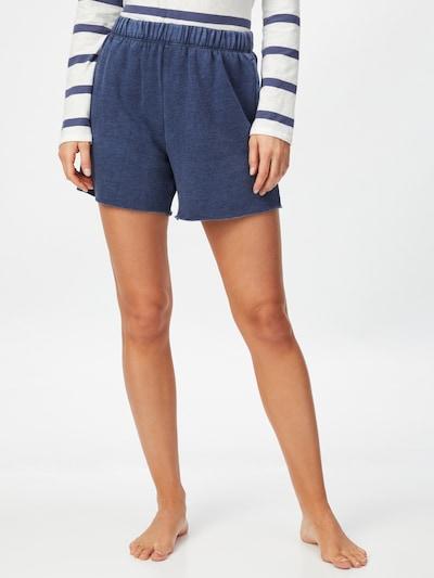 AERIE Pantalon en bleu-gris, Vue avec modèle
