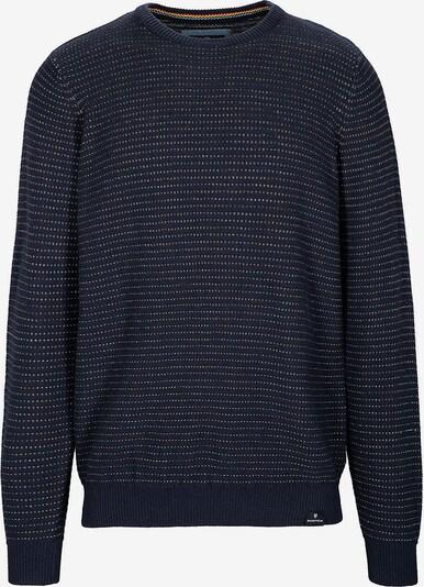BASEFIELD Pullover in nachtblau / mischfarben, Produktansicht