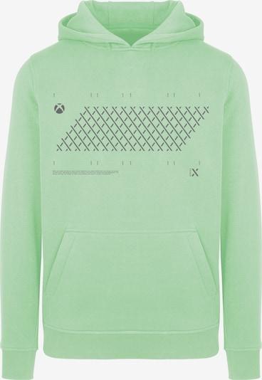 ABOUT YOU x XBOX Sweatshirt ' X Style' in anthrazit / mint, Produktansicht