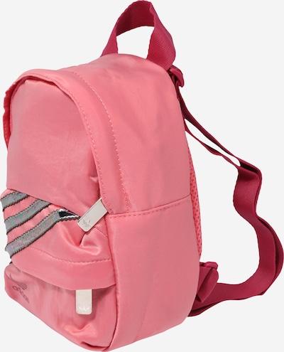 ADIDAS ORIGINALS Rucksack in silbergrau / pink, Produktansicht