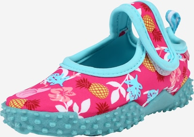 PLAYSHOES Low shoe in Turquoise / Pink, Item view