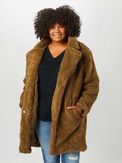 barna Urban Classics Átmeneti kabátok 'Sherpa', Modell nézet