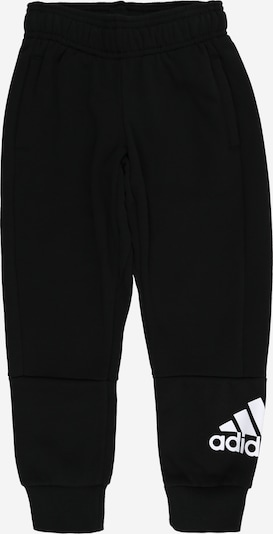 ADIDAS PERFORMANCE Pantalon de sport 'Must Have Batch Of Sport' en noir / blanc, Vue avec produit