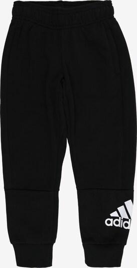 ADIDAS PERFORMANCE Sporthose 'Must Have Batch Of Sport' in schwarz / weiß, Produktansicht