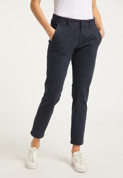DreiMaster Vintage Pantalon chino en marine, Vue avec modèle