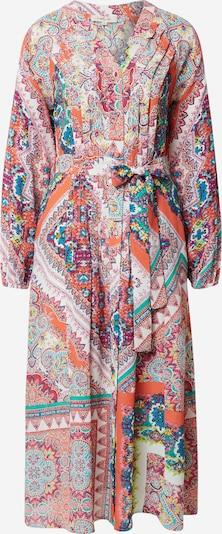 Derhy Košulja haljina 'SIROCCO' u bež / plava / žuta / svijetlocrvena, Pregled proizvoda