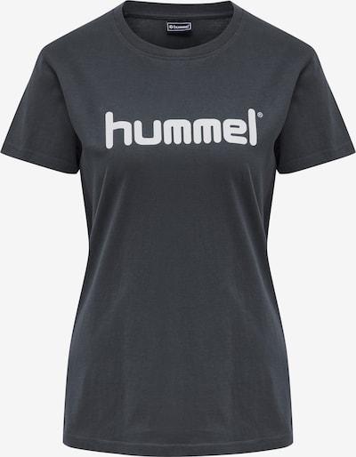 Hummel Functioneel shirt in de kleur Marine / Wit, Productweergave