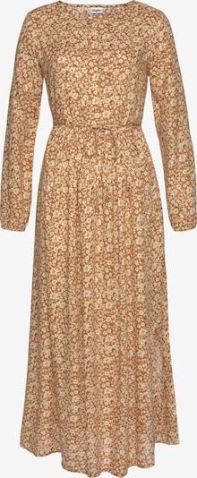 BUFFALO Kleid in creme / hellbraun, Produktansicht