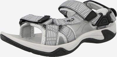CMP Trekking sandal 'Hamal' in Grey / Black / White, Item view