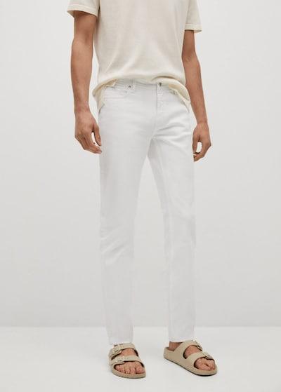 MANGO MAN Jeans 'jan' in weiß, Modelansicht