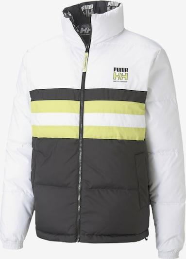 PUMA Tussenjas in de kleur Limoen / Zwart / Wit, Productweergave