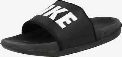 Zoccoletto 'Offcourt' Nike Sportswear di colore nero / bianco, Visualizzazione prodotti