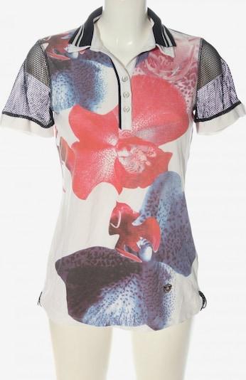 Sportalm Polo-Shirt in S in blau / pink / weiß, Produktansicht