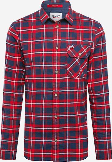 Tommy Jeans Košeľa - námornícka modrá / červená, Produkt