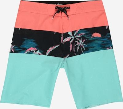BILLABONG Maillot de bain de sport en turquoise / corail / noir, Vue avec produit