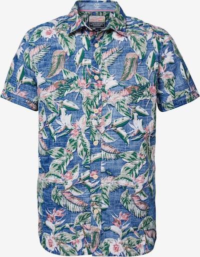 Petrol Industries Overhemd in de kleur Blauw, Productweergave