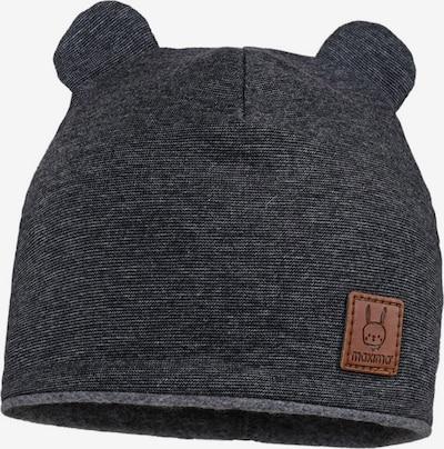 MAXIMO Mütze in braun / schwarzmeliert, Produktansicht