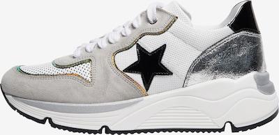 NOCLAIM Sneakers laag 'LOGAN 12' in de kleur Grijs / Wit, Productweergave