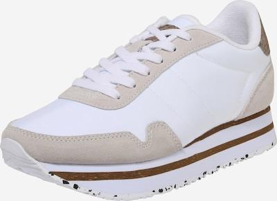 WODEN Baskets basses 'Nora III' en beige / blanc, Vue avec produit