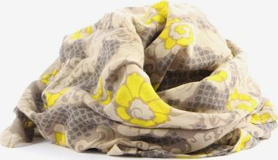 FOSSIL Halstuch in One Size in creme / braun / pastellgelb, Produktansicht