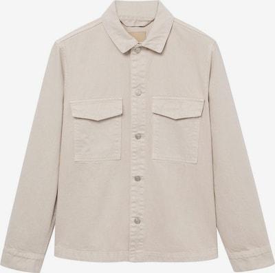 MANGO MAN Hemd 'John' in beige, Produktansicht