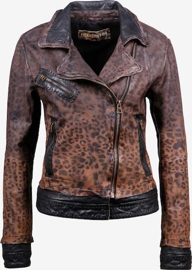 Giacca di mezza stagione ' Miss Cheetah' FREAKY NATION di colore marrone scuro, Visualizzazione prodotti