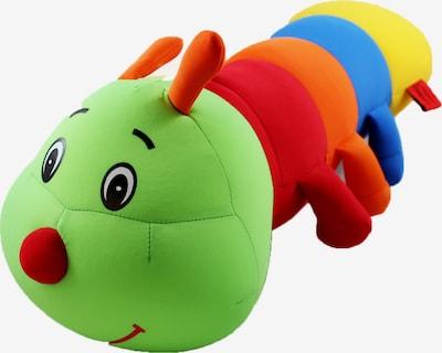 CuddleBug Reisekissen 'Pluche Travel' in grün / mischfarben, Produktansicht