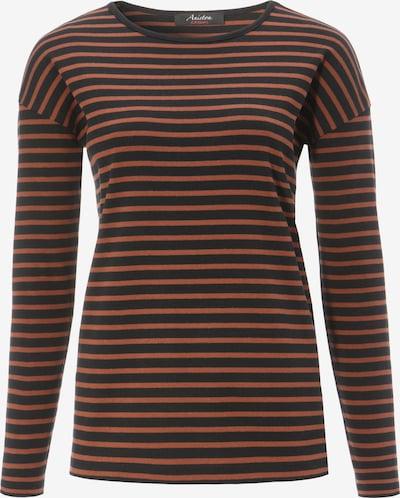 Aniston CASUAL Shirt in dunkelorange / schwarz, Produktansicht