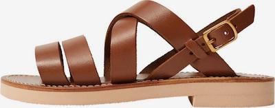 MANGO KIDS Sandalette 'Brisbane' in braun, Produktansicht