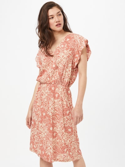 Rochie 'Tisha' SAINT TROPEZ pe roșu pepene / alb, Vizualizare model