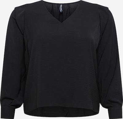 PIECES (Curve) Blouse 'DORTHY' in de kleur Zwart, Productweergave