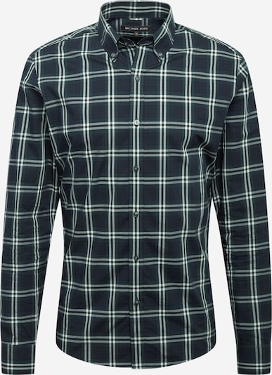 Michael Kors Hemd 'WINDOWPANE' in navy / smaragd / weiß, Produktansicht